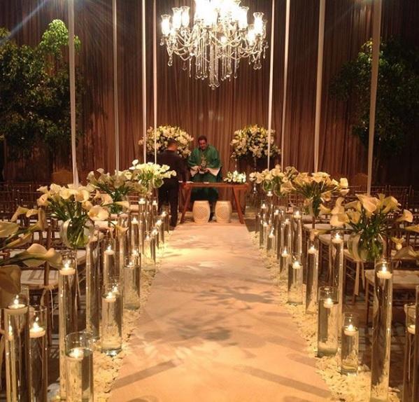 Altar para cerimônia
