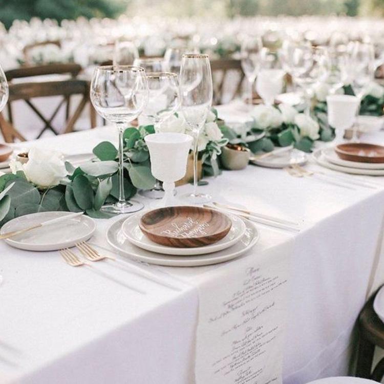 Casamento sustentável: decoração sustentável - Cheers